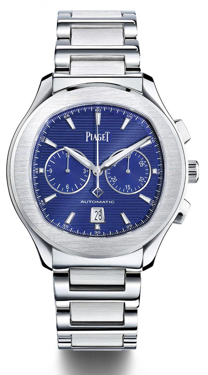 Piaget: Polo S Chronograph mit blauem Zifferblatt