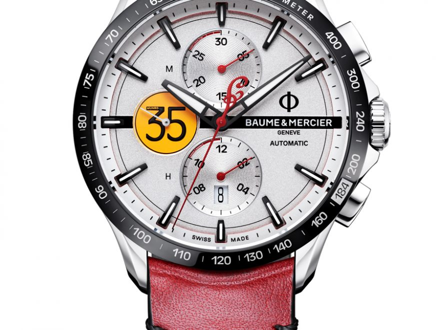 Baume & Mercier: Clifton Club Burt Munro Tribute Limited Edition