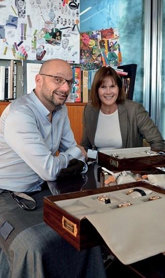 Alexandre Peraldi, Designer von Baume & Mercier, im Interview mit Katrin Nikolaus, UHREN-MAGAZIN