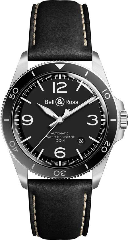 Bell&Ross-BR-V2-92-BlackSteel aus der Bell & Ross Vintage-Kollektion