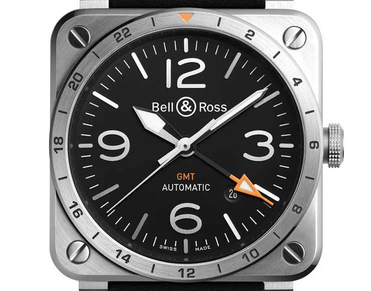 Neue Variante mit 2.Zeitzone: Bell & Ross BR-03-93 GMT