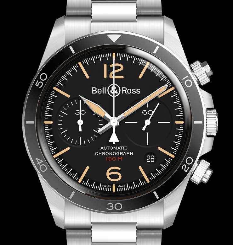 Baselworld Preview: Bell & Ross BR V2-92 Steel Heritage