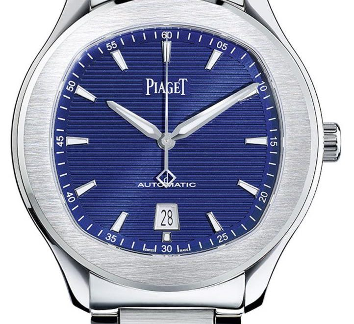 Piaget: Polo S mit blauem Zifferblatt