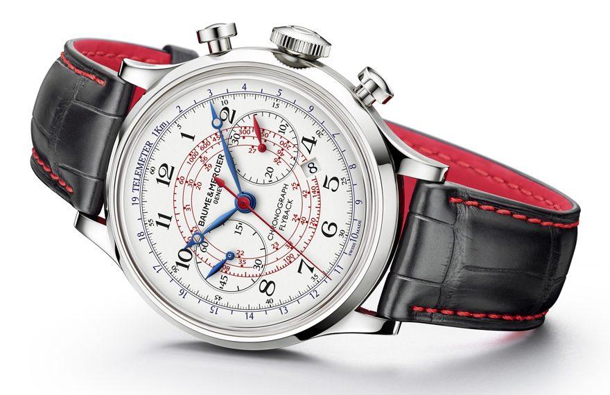 Baume & Mercier: Capeland Chronograph Flyback Passione Engadina