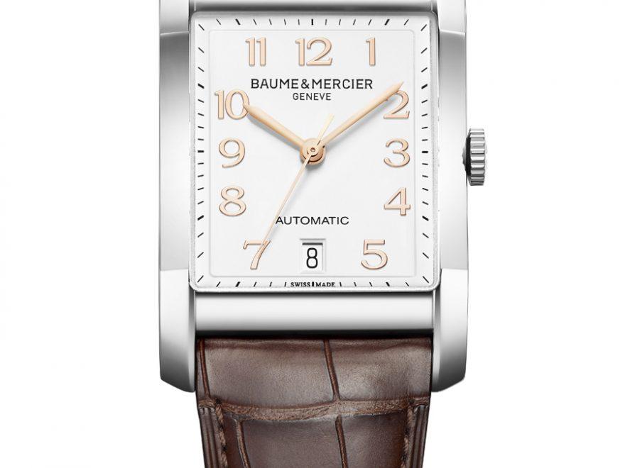 Baume & Mercier: Hampton Automatik mit braunem Lederband